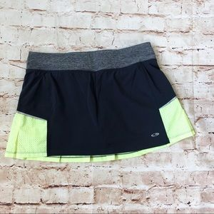 Champion athletic mini skirt
